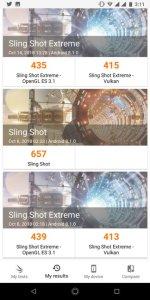 Infinix Note 5 Stylus 3DMark Scores