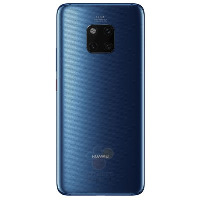 Mate 20 Pro Leaked Render