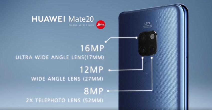 Mate 20 Leica Triple Camera