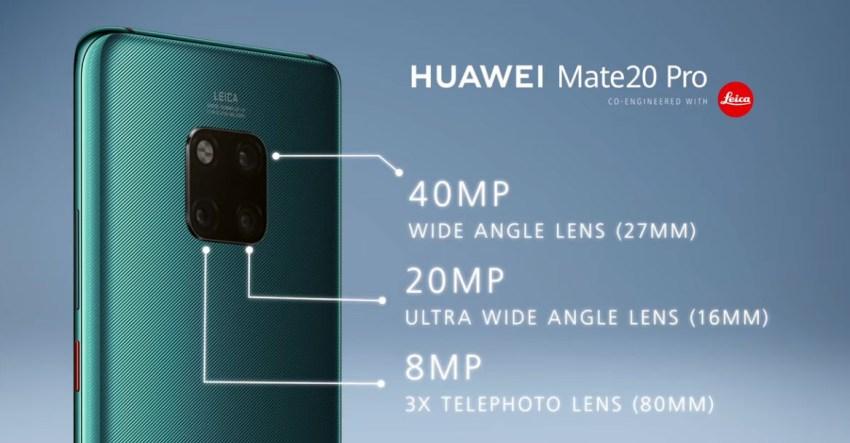 Mate 20 Pro Triple-Camera Explained