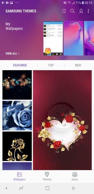 Samsung Experience UI Themes