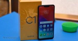 Realme C1 Review Unboxing