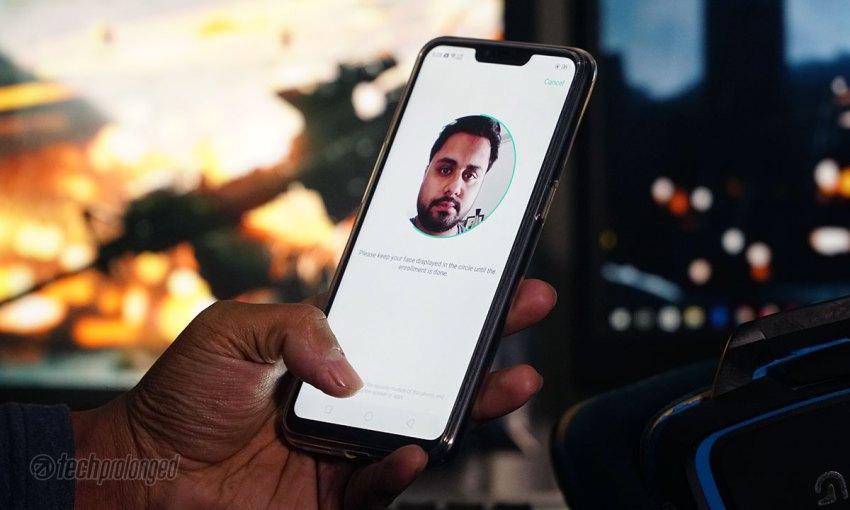 Realme C1 Face Unlock