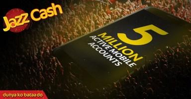 JazzCash Active Accounts