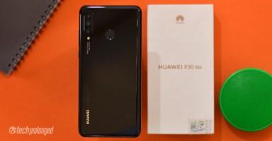 Huawei P30 Lite Black Variant