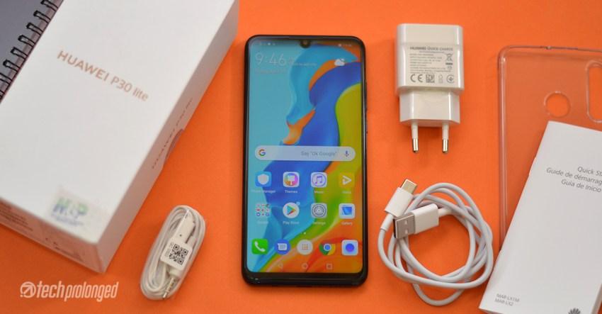 Huawei P30 Lite Box Content