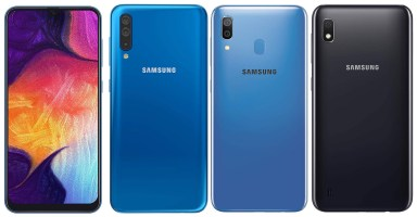 Galaxy A50, A30, A10 Pakistan Price