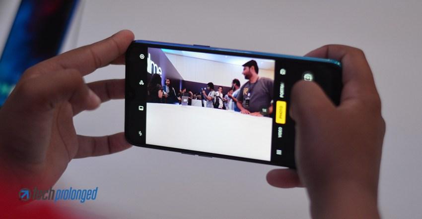 Realme 3 Camera UI