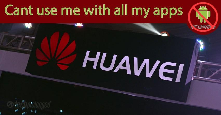 Google cancels Huawei License