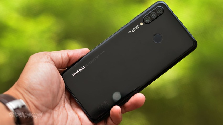 Huawei P30 Lite Review Design