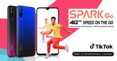Tecno Spark Go for TikTok Users