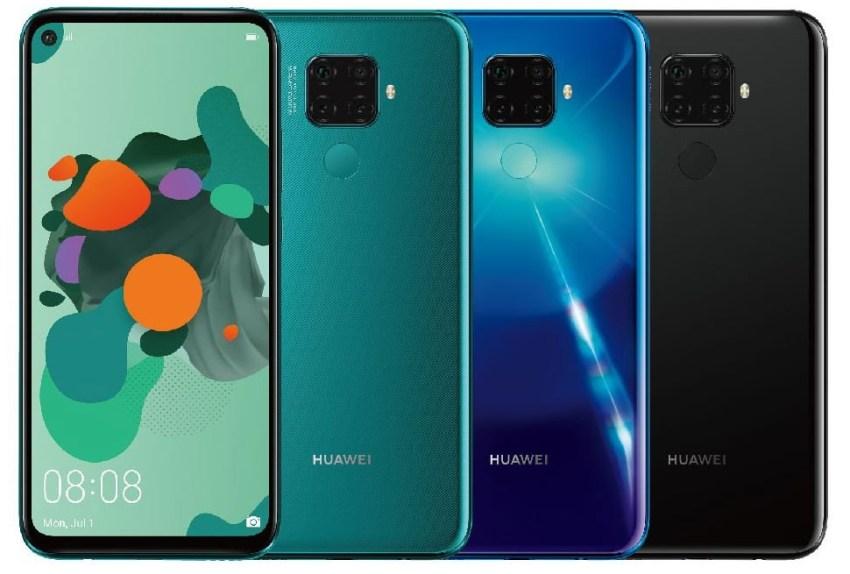 Huawei Mate 30 Lite Leaked Render