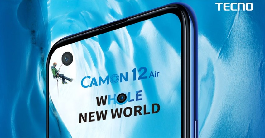 Camon 12 Air Punch-Hole Display
