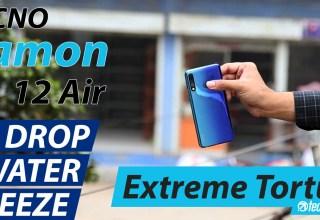 Camon 12 Air Mega Drop Test