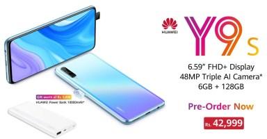 Huawei Y9s Pre Order Pakistan