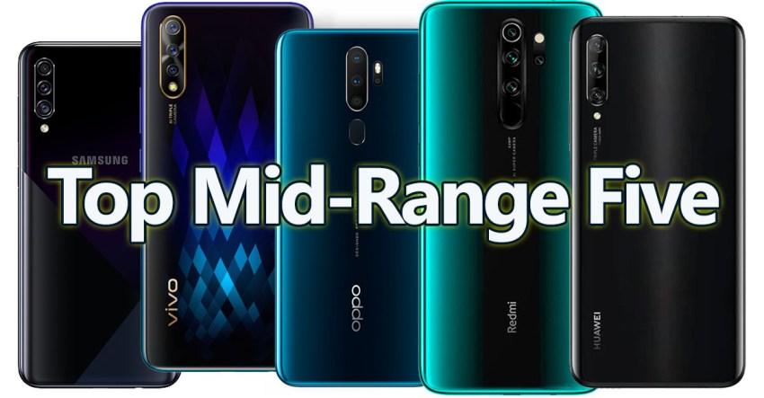 Top Mid-Range Smartphones 2019