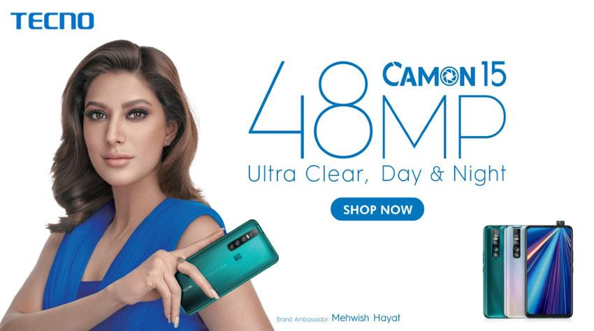 Tecno Brand Ambassador Mehwish Hayat