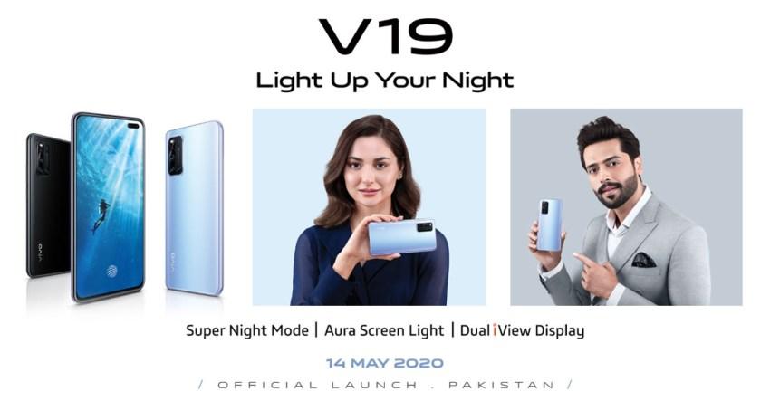 Vivo V19 Launch Date in Pakistan