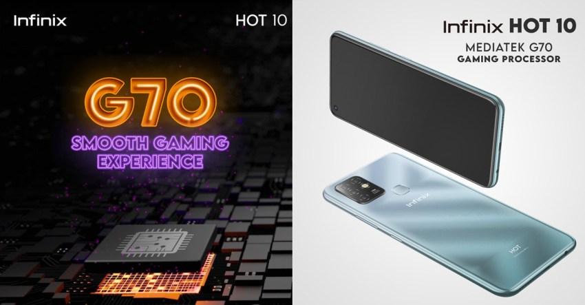 Infinix Hot 10 - Helio G70
