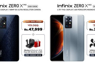 Infinix Zero X Pro and Neo Special Discount