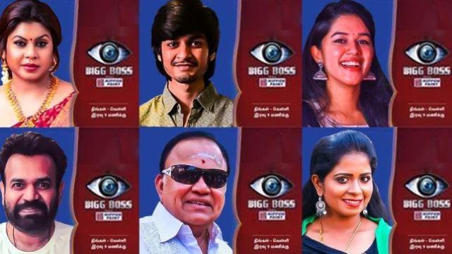 Bigg Boss Tamil Season 3 Contestants List With Photos | TechPru