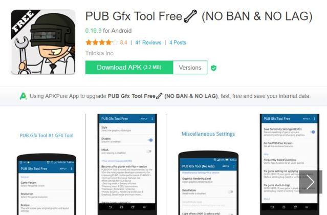 PUBG GFX Tool Pro APK Download | Increase FPS In PUBG Mobile