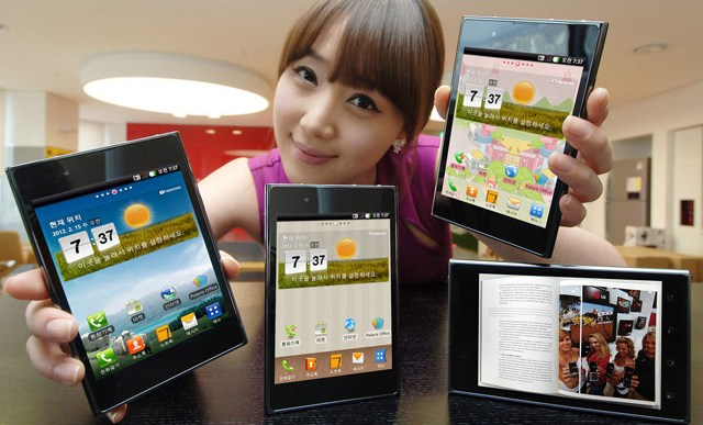 LG Optimus Vu to rival Samsung Galaxy Note