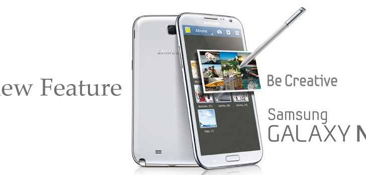 Samsung Galaxy Note II – AirView Feature