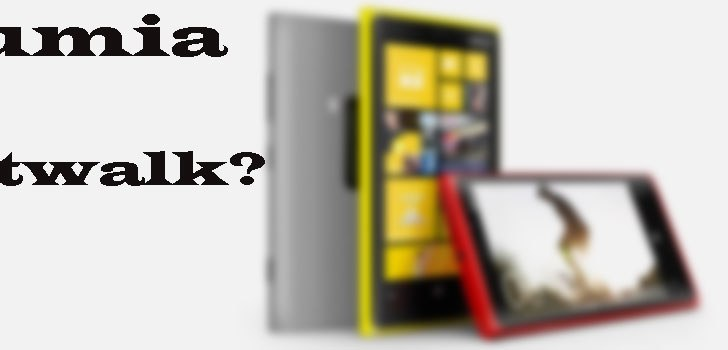 Nokia planning a catwalk to all aluminum body for Lumia 920 successor