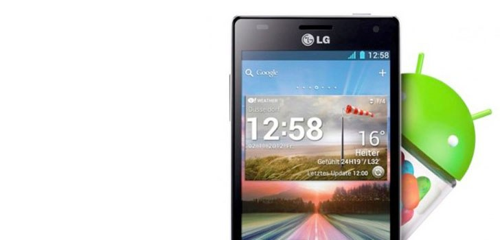 Three LG Optimus Smartphones to Receive Android Jelly Bean Update