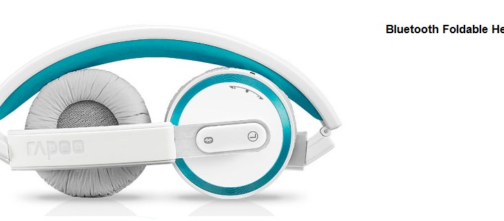 RAPOO Launches Speach Recognition Bluetooth Foldable Headset – H6080 in India