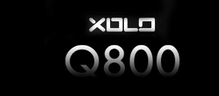 Quad core Lava Xolo Q800 launched in India for Rs. 12,499 ($ 240)