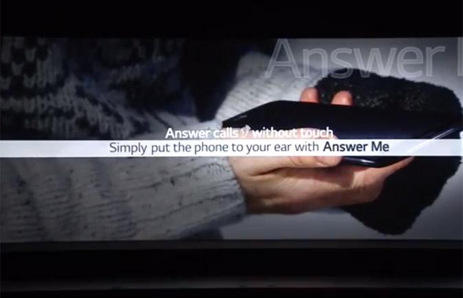 LG G2 Answer Me