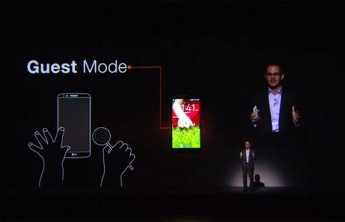 LG G2 Guest Mode