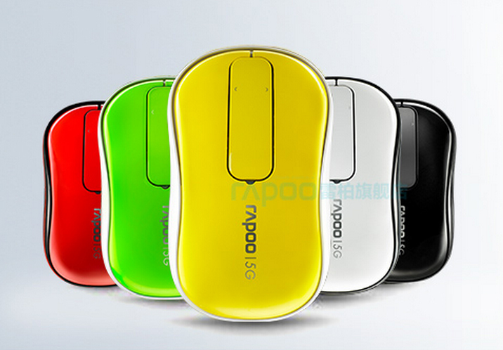 Rapoo T120P Touch wheel mouse launched in India, available in 5 colors