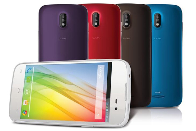 Lava Iris 450 Color launched for Rs 7,999, comes with interchangeable back panels
