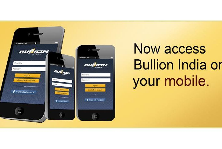 Now you can buy or sell gold through BullionIndia App for Android