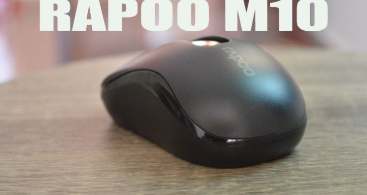 Rapoo M10 Wireless Mouse Review