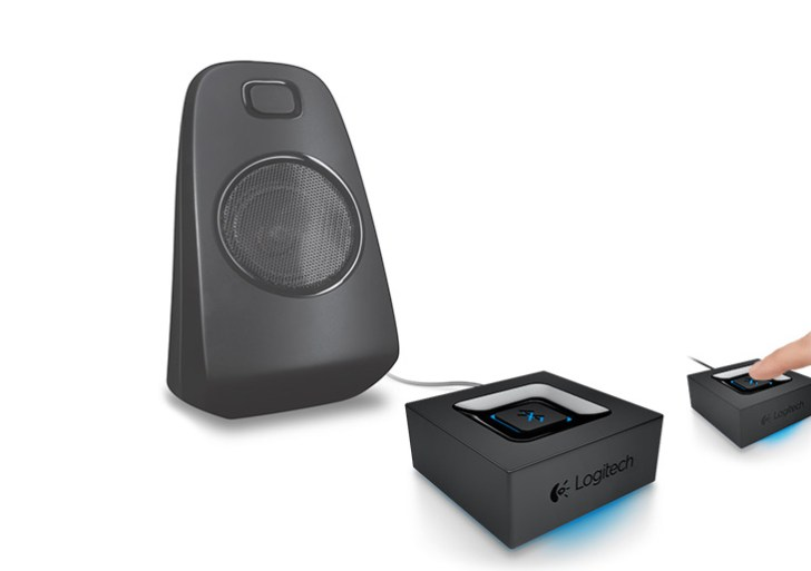 Turn your wired speaker into wireless with this Logitech Bluetooth Adapter