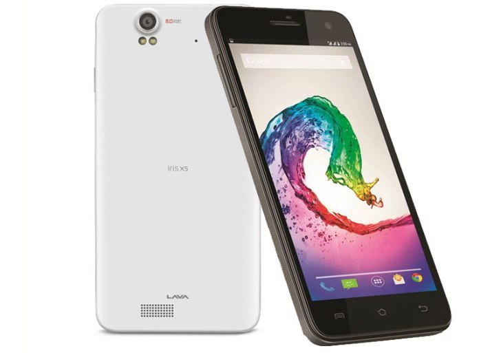 Selfie delight: Lava Iris X5 with 5MP front camera with flash launched; priced at Rs 8,799