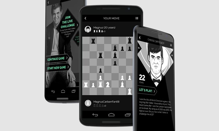 Magnus Carlsen Chess App now available in Android