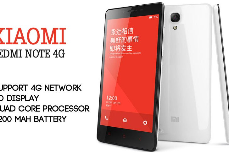 Xiaomi Redmi Note 4G Announced in India; Priced at Rs 9,999