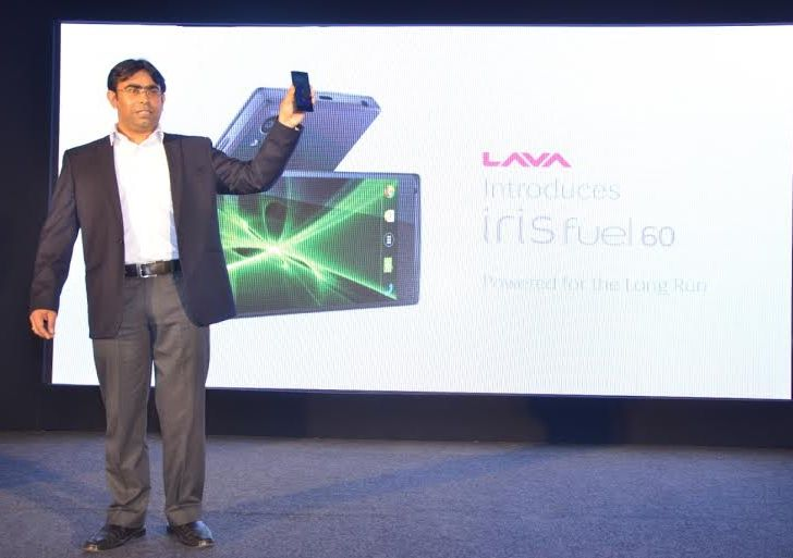 Lava Iris Fuel 60 with 4,000mAh battery launched in India at Rs 8,888
