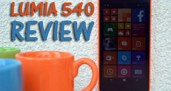 Microsoft Lumia 540 Review: A Budget Selfie Windows Phone