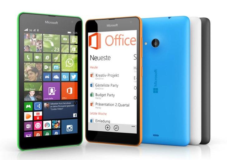 Giveaway: Win a Microsoft Lumia 535 Smartphone #AchieveMore
