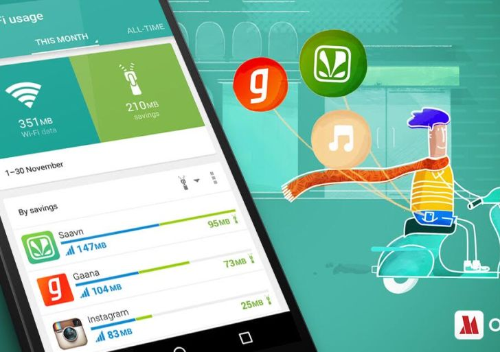 Opera Max now helps save upto 50% data from music streaming apps