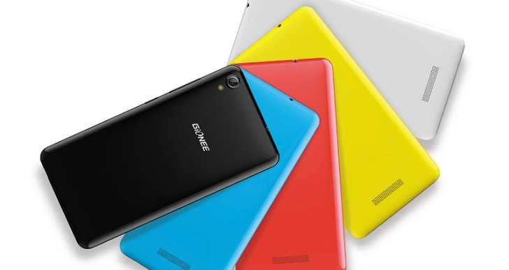 Gionee launches the Pioneer P5W in India at Rs 6,499, available in 5 colors