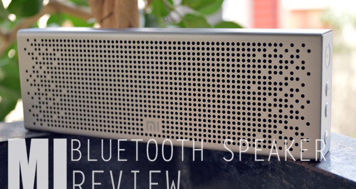 Xiaomi Mi Bluetooth Speaker Review
