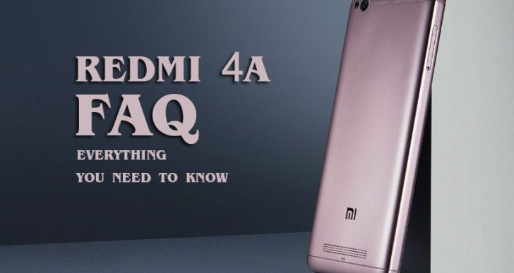 Redmi 4A FAQs – Everything You Need to Know
