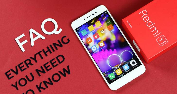 Redmi Y1 FAQ : Everything You Need To Know | Answers to Frequently Asked Questions